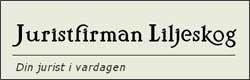 Juristfirman Liljeskog 250×80